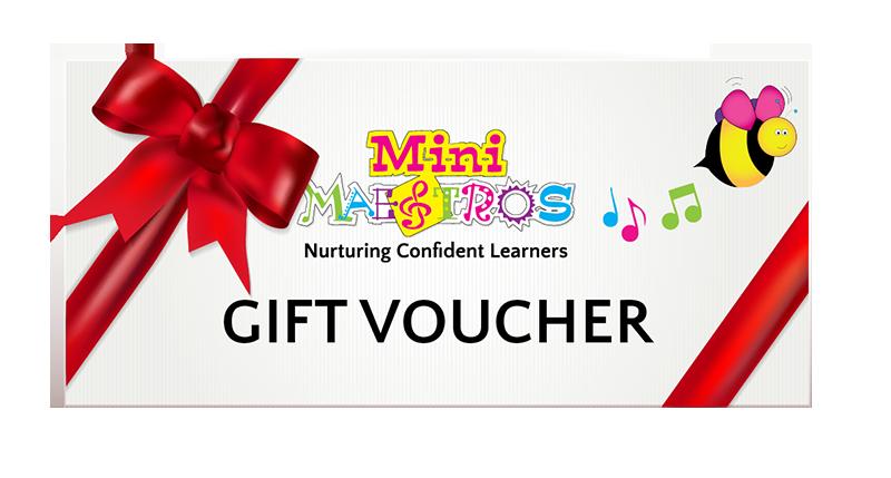 purchase gift voucher mini maestros